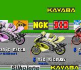 Kawasaki Superbike Challenge SNES The starting grid