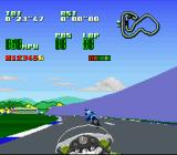 Kawasaki Superbike Challenge SNES Trying to overtake