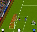 Kick Off 3: European Challenge SNES Good save by the keeper