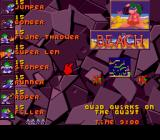 Lemmings 2: The Tribes SNES The Beach is next