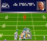 Madden NFL 98 SNES Gain of 8 yards