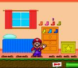 Mario's Early Years: Fun with Numbers SNES Counting socks