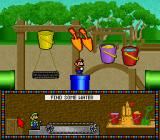 Mario's Early Years: Fun with Numbers SNES Find some Water