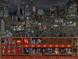 Heroes of Might and Magic III: The Shadow of Death Windows A look at the necromacer's town.
