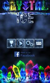 Crystal Ice Android Main menu
