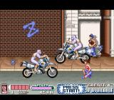 Mighty Morphin Power Rangers: The Movie SNES Motorbikes to avoid