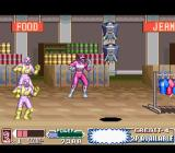Mighty Morphin Power Rangers: The Movie SNES Robots to destroy