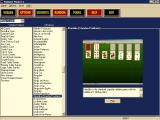 Solitaire Master 3 Windows The game's interface has games listed in alphabetical order. Games are also grouped by type
