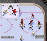 NHL 96 SNES Face-off in your half