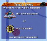 NHL 97 SNES Today's Game