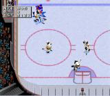 NHL 97 SNES On the attack