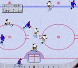 NHL 97 SNES Goal mouth action