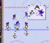 NHL 97 SNES Face-off for a foul