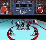 NHL Stanley Cup SNES Face-off