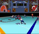 NHL Stanley Cup SNES Knocked in the air