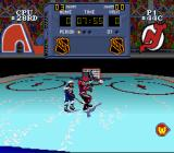 NHL Stanley Cup SNES Stopped from shooting