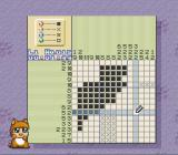 Oh-chan no Oekaki Logic SNES Filling in the squares