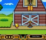 Pac-Man 2: The New Adventures SNES A sleeping farmer