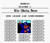 Paperboy 2 SNES Daily Headline