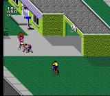 Paperboy 2 SNES Basketball game being played