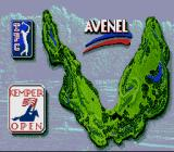 PGA Tour 96 SNES The course