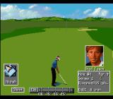 PGA Tour 96 SNES On the fairway