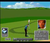 PGA Tour Golf III SNES Chip the ball onto the green