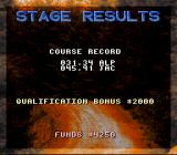 Power Drive SNES Stage Results