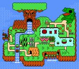 Wagan Land NES Level map