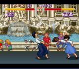 Ranma 1/2: Chōgi Ranbu-hen SNES Hit you with her bag