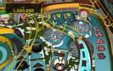 Zen Pinball 2: South Park Pinball Windows <i>Butters' Very Own Pinball Game</i> - Top right part with the spinners