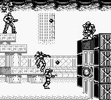 Contra III: The Alien Wars Game Boy Destroy wall