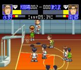 Slam Dunk: SD Heat Up!! SNES Setting up to shoot