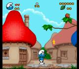 The Smurfs SNES Star to collect