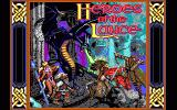 Heroes of the Lance DOS Title screen (EGA)