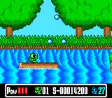 Super Wagan Land SNES One of the many levels.
