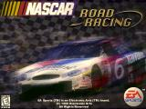 NASCAR Road Racing Windows The game's title screen