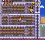 Super Back to the Future Part II SNES Climbing a tower
