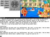 Steve Meretzky's Spellcasting 301: Spring Break DOS At the pool. You decide to try a gay life style. The game reacts to that!..