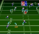 Troy Aikman NFL Football SNES Running with the ball