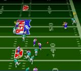 Troy Aikman NFL Football SNES Thrown the ball