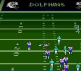 Troy Aikman NFL Football SNES Tackled the opposition player
