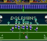 Troy Aikman NFL Football SNES Going for the extra point