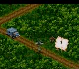 Urban Strike SNES Destroying in the jungle