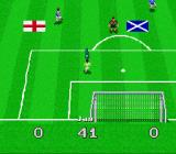 Virtual Soccer SNES Keeper saves