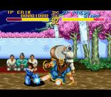 World Heroes 2 SNES Low kick