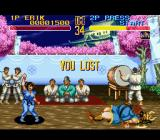 World Heroes 2 SNES You lost
