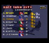 Winter Gold SNES Medals Table