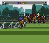 Winning Post SNES Coming round the bend