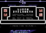 Commodore Format Power Pack 38 Commodore 64 Lunar Jailbreak: Title Screen